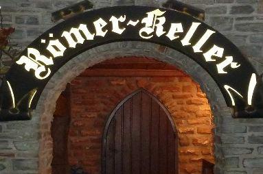 Bömers - Römerkeller Eingang