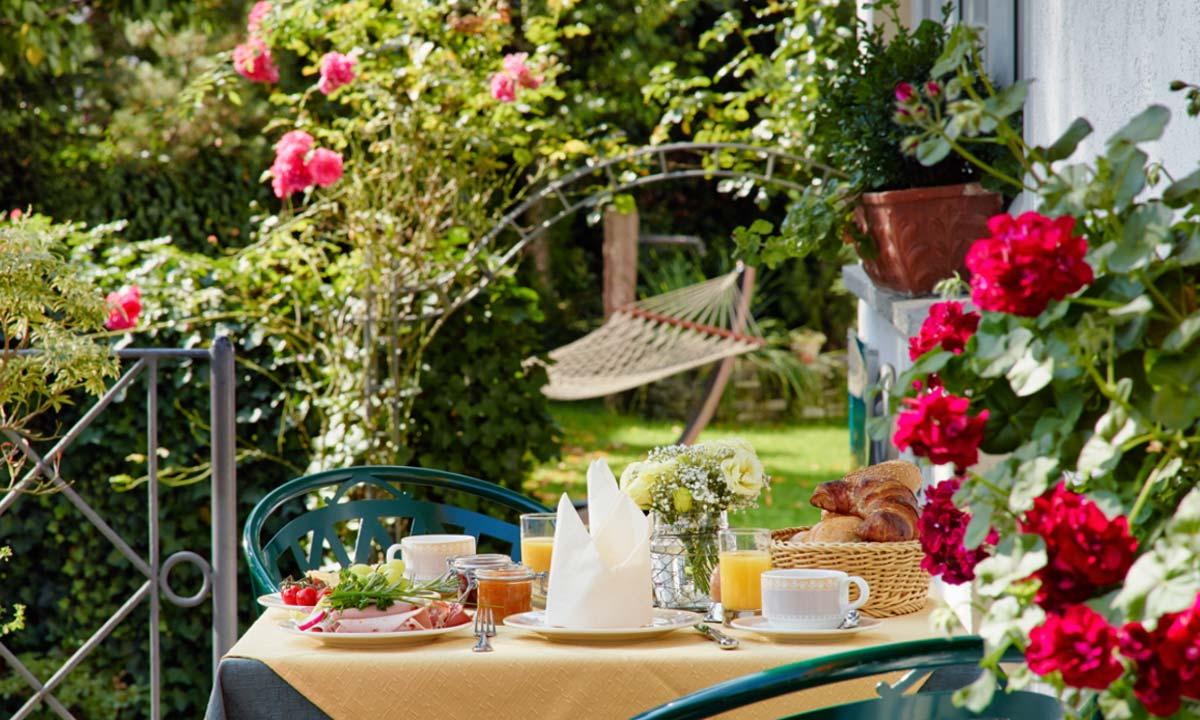 Bömers - Gartenfrühstück