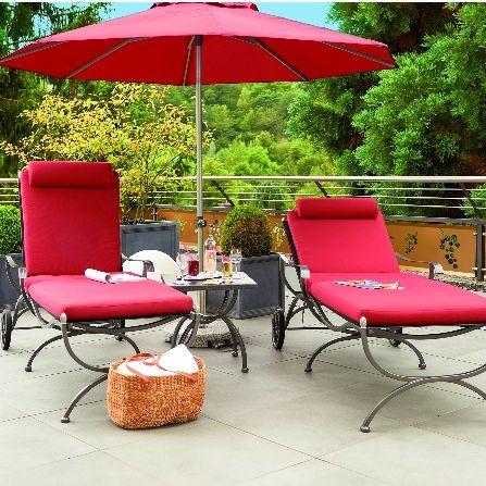 Bömers-entspannen auf der Terrasse